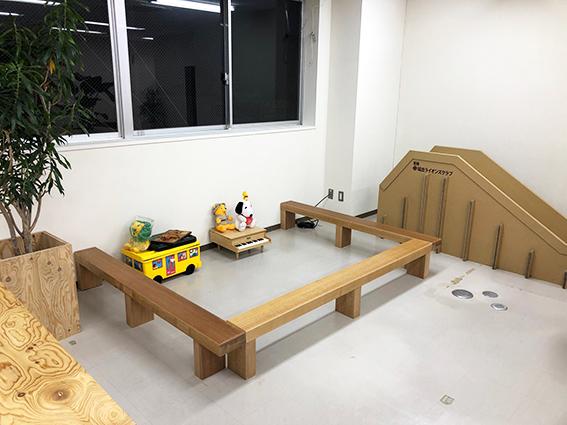 託児スペースの写真